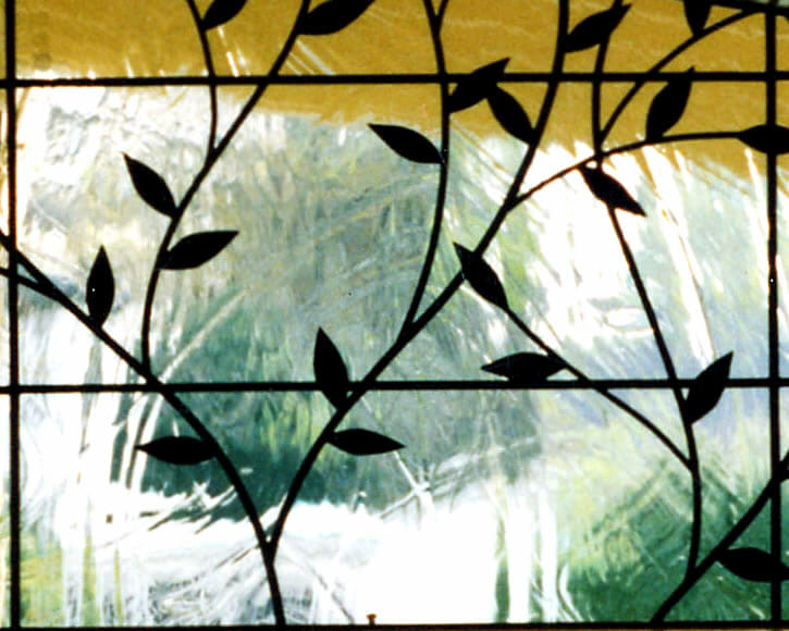 Leaded Glass Transom Panel2