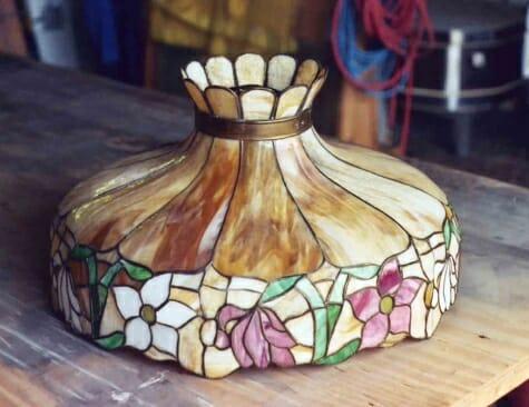 Repaired Lamp Shade
