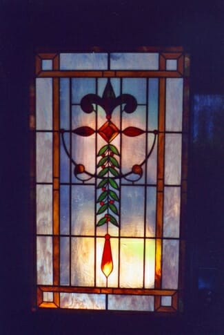 Residencial Stained Glass Door Panel