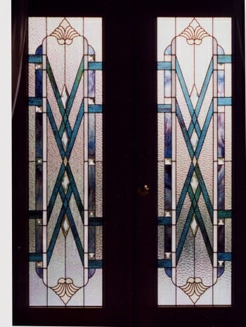 Stained Glass French Doors