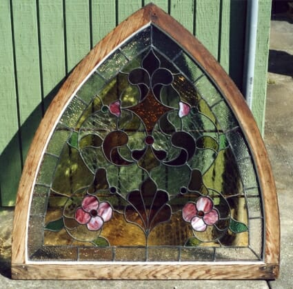 Stained Glass Panel Repair