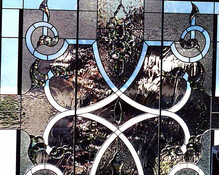 Art Glass Stair Landing2